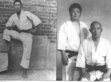 Avec Me Kwang Myung-Sik (fondateur World Hapkido Fédfération)